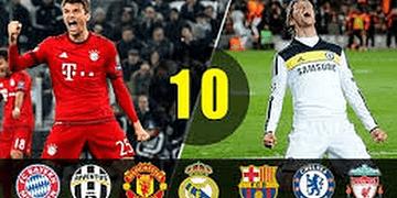 LOS PARTIDOS MAS DRAMÁTICOS EN LA HISTORIA DE LA UEFA CHAMPIONS LEAGUE