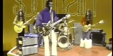 Chuck Berry performs Johnny B Goode on Soul Train 1973
