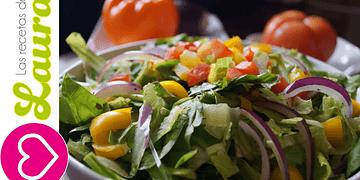 Ensalada para Navidad - Recetas Navideñas - Green Christmas Salad