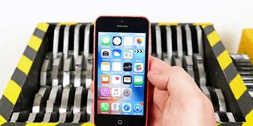 Triturando iPhones + SORTEO iPhone7 Plus