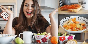 Bajar de peso | Un día en mi Menú y RECETAS sanas - Pretty and Olé