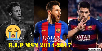 The Official End of MSN ● R.I.P MSN .. Try not to CRY ● Neymar Jr to PSG Confirmed