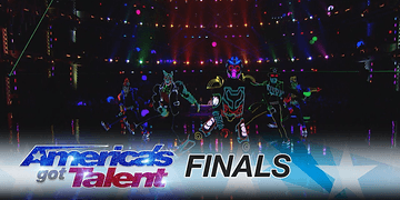 Grupo de dança Light Up Dance Crew arrebenta no America's Got Talent 2017
