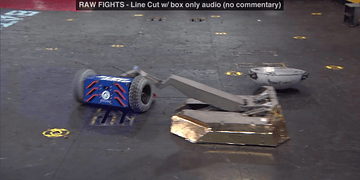 Escape Velocity vs OverDrive: BattleBots Season 2 Qualifying Round