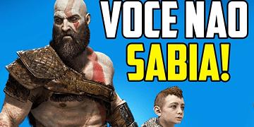 7 COISAS INCRÍVEIS SOBRE O NOVO GOD OF WAR QUE VOCÊ NÃO SABIA!