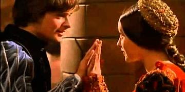 Romeo y Julieta - El primer beso