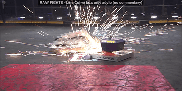 Icewave vs SubZero: BattleBots Season 2 Qualifying Round