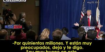 Donald Trump echa al periodista Jorge Ramos de conferencia de prensa.