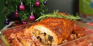 Lomo de Cerdo Relleno Adobado | Recetas de navidad